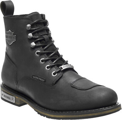 $ CDN216.92 • Buy HARLEY-DAVIDSON FOOTWEAR Men's Clancy Waterproof Black Leather Boots D96159