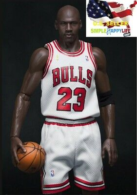 $23.61 • Buy 1/6 Scale Michael Jordan White Chicago Bulls Jersey 23 For Enterbay Body ❶USA❶