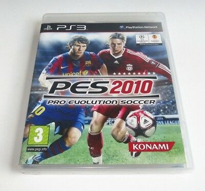 AU9 • Buy Pro Evolution Soccer 2010 - Playstaion 3 - PS3 - Complete - Edc