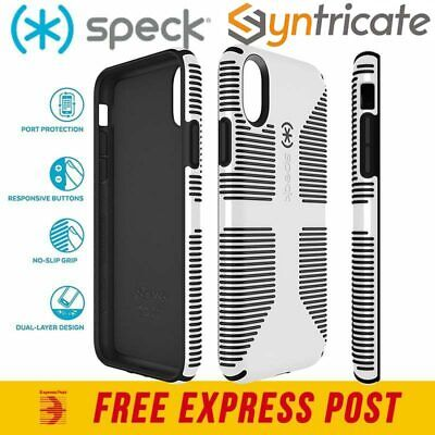 AU29.95 • Buy Speck Candyshell Grip Slim Cover Thin Strong Case For Iphone Xs/x - White/black