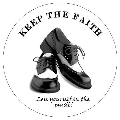 Northern Soul - Dance Shoes - Inside Car / Window Sticker + 1 Free / New / Gifts • 4.99£