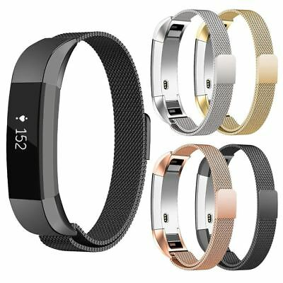 AU20.79 • Buy Milanese Stainless Steel Watch Strap Band For Fitbit Alta/HR Smart Fitness Watch