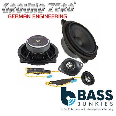 Ground Zero BMW 1 Series E88 2004-2011 4  2-Way Component Rear Car Speakers • 244.99£