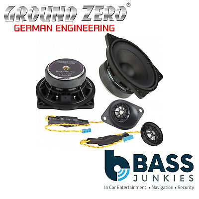Ground Zero BMW 1 Series E81 82 E87 4  2-Way Component Rear Car Speakers • 244.99£
