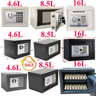 Secure Digital Steel Safe Electronic High Security Home Office Money Safety Box • 32.20£