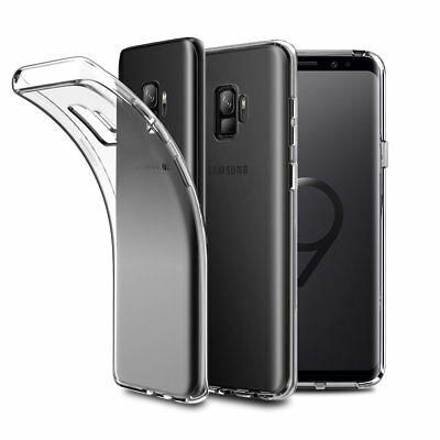 AU5.99 • Buy Clear Gel Shockproof Case Cover For Samsung Galaxy S8 S9 Plus Note 8