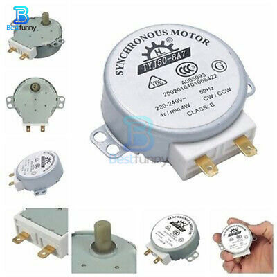 £2.39 • Buy TYJ50-8A7 Microwave Turntable Turn Table Motor Synchronous Motor TYJ508A7 50Hz