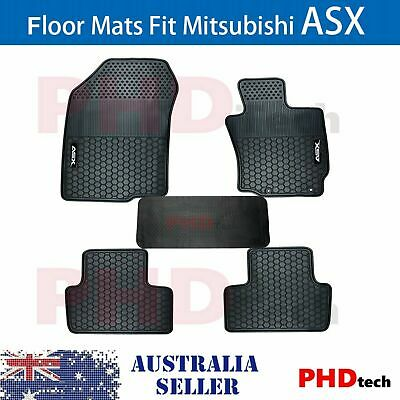 AU85 • Buy MITSUBISHI ASX 2010-2021 XA XB XC XD Tailored All Weather Rubber Car Floor Mats