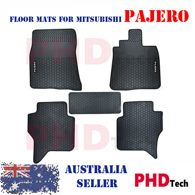 AU85 • Buy MITSUBISHI PAJERO NS NT NW NX 2006-2020 5DR All Weather Rubber Car Floor Mats