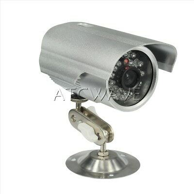 All-in-One Outdoor CCTV Security Camera Micro SD/TF Card Night Vision DVR Record • 17.99£