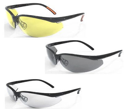 £8.99 • Buy Site Safety Spectacles {Clear,Grey & Yellow Tinted} With Spec Cord, Mixed Option