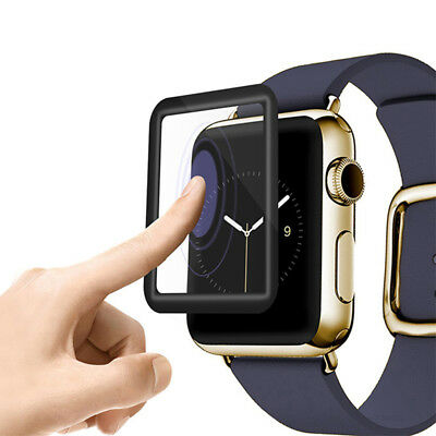 $ CDN2.29 • Buy Apple Watch IWatch Series 3/2/1 Tempered 3D Full Cover Glass Screen Protector