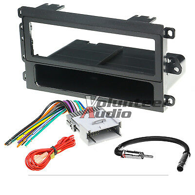 $19.49 • Buy Car Radio Stereo CD Player Dash Install Mounting Trim Panel Kit Harness Antenna