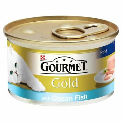 Gourmet Gold Pate With Ocean Fish (85g) - Pack Of 2 • 1.99£