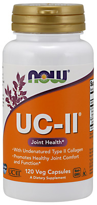 $30.25 • Buy UC-II Type II Collagen Joint Support 120 Vcaps By Now Foods 04/23