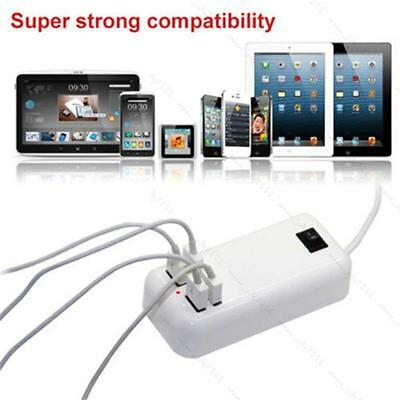 AU9.49 • Buy 15 Watts 4 Port USB Wall Charger Multi Port For USB-Powered Devices Universal