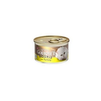 Gourmet Gold Cat Food With Turkey In Pate  (85g) (Pack Of 4) • 4.75£