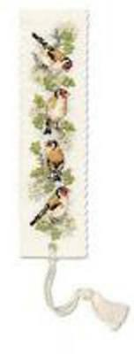 £6.17 • Buy Goldfinches Bookmark Cross Stitch Kit By Textile Heritag