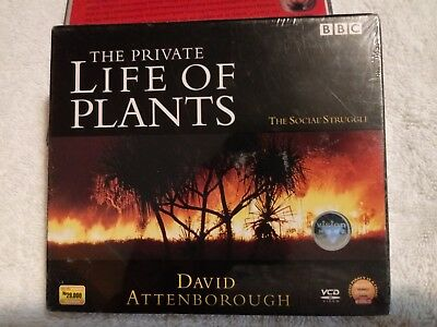 £6.54 • Buy BBC - The Private Life Of Plants - The Social Struggle By David Borough - VCD