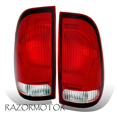 $31.69 • Buy 1997-2003 Replacement Tail Light For Ford F150 / 99-07 F250, F350 SuperDuty Pair