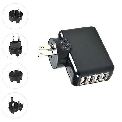 AU11.12 • Buy Quality 4 Port USB Wall Charger Power Supply For IPhone X 8 Plus Samsung LG Sony