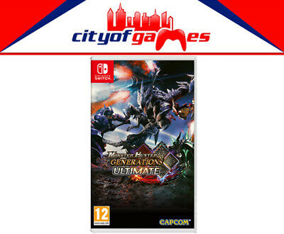 AU54.95 • Buy Monster Hunter Generations Ultimate Nintendo Switch Brand New & Sealed In Stock