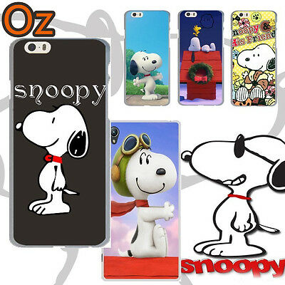 AU11 • Buy SNOOPY Case For Sony Xperia XZ2 Premium, Peanuts Design Painted Cover WeirdLand