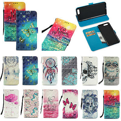 AU1 • Buy Diamonds Shiny Patterned Leather Flip Card Wallet Stand Case Cover For Lot Phone