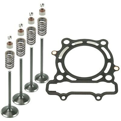 $73.85 • Buy Cylinder Intake Exhaust Gasket Valve Kit For Kawasaki KX250F 2004-2007