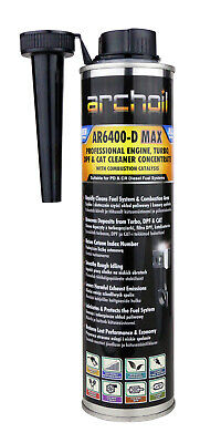 Archoil AR6400-D MAX Pro Diesel Engine, Turbo DPF Cleaner Concentrate 400ml • 23.15£
