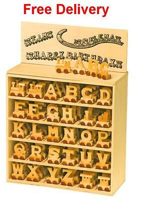 £7.50 • Buy Personalised Wooden Name Train : Use Wooden Letters To Spell A Personalised Name