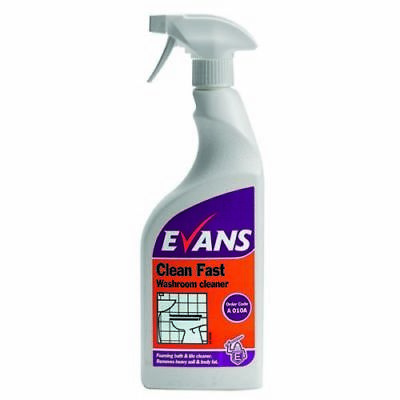 Evans Clean Fast Heavy Duty Washroom Cleaner 750ml  • 7.99£