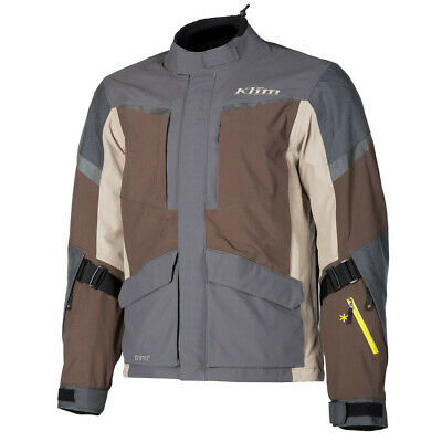 $ CDN763 • Buy KLIM Carlsbad Brown Motorcycle Touring Adventure Jacket - Free Shipping - NEW