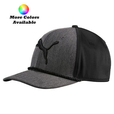 outlet store cabfb 97e14 New Puma Golf 2017  Gotime Rope Adjustable Cap Hat - Multiple Colors OSFM •  14.95