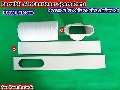 AU76.14 • Buy 3PCs Portable Air Conditioner Spare Parts (Gob+Window Kit+Hose) (100cmx13cm)