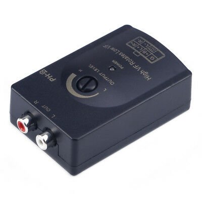 £5.55 • Buy Audio RCA Speaker High To Low Level Line Output Converter & Wiring Adapter
