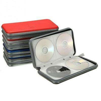 £6.99 • Buy 80 CD DVD Carry Case Disc Storage Holder CD Sleeve Wallet Box Ideal For In Car