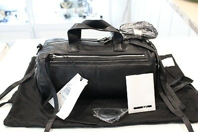 AU499 • Buy Alexander McQueen Black Leather Hand Bag Shoulder Bag-New With Tag & Authentic