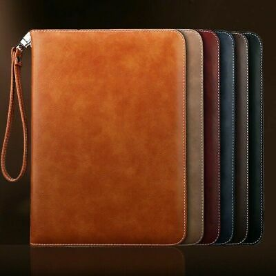 AU25.99 • Buy Genuine Luxury Leather Case Cover For Apple New IPad Air Mini 234 5 6 7 Pro 2018
