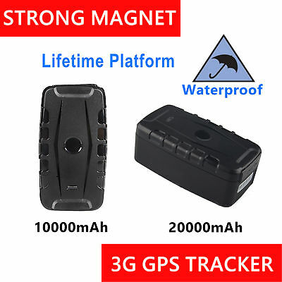 AU172.99 • Buy Portable Long Life 3G GPS Tracker Waterproof Magnet Anti Theft Car Live Tracking