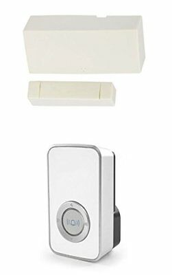 £23.99 • Buy Wireless Door Entry Sensor Contact With White 32 Melody Chime / Bell Shop Alert