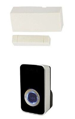 £23.99 • Buy Wireless Door Entry Sensor Contact With Black 32 Melody Chime / Bell Shop Alert