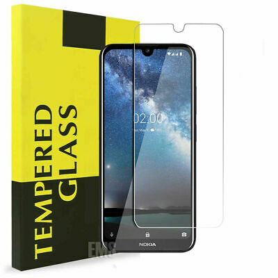AU3.99 • Buy Tempered Glass LCD Screen Protector Film For Nokia 2.1 3.1 5.1 6.1 7.1 Plus 8.1