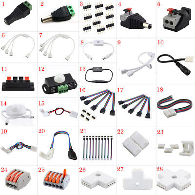 $4.03 • Buy LED Accessories 4pin DC Connector Adapter Extension Cables For LED Strip Light