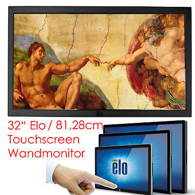£641.55 • Buy Touchscreen Large Format Monitor Display 81cm 32   Elo ET3243L P/N E000732