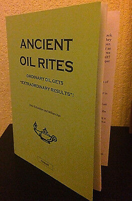 £39.97 • Buy ANCIENT OIL RITES - Finbarr Occult Grimoire Black Magick Witchcraft