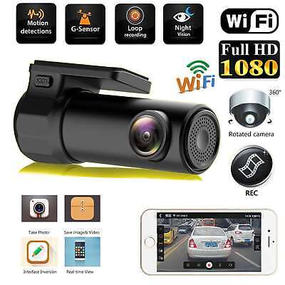 AU36.99 • Buy 170° 1080P Wifi Car Hidden Camera DVR Video Dash Cam Recorder Night Vision AU