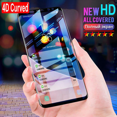 $ CDN2.28 • Buy Full Cover Tempered Glass Screen Protector For Samsung Galaxy S7 Edge S9 S8 Plus