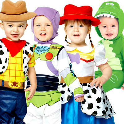 Toy Story Infants Fancy Dress Disney Book Day Toddler Kids Childrens Costume New • 14.99£