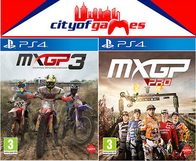 AU89.95 • Buy MXGP 3 & MXGP Pro PS4 Game Bundle New & Sealed In Stock